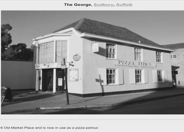 The George Pub - Robert Shelley was Landlord